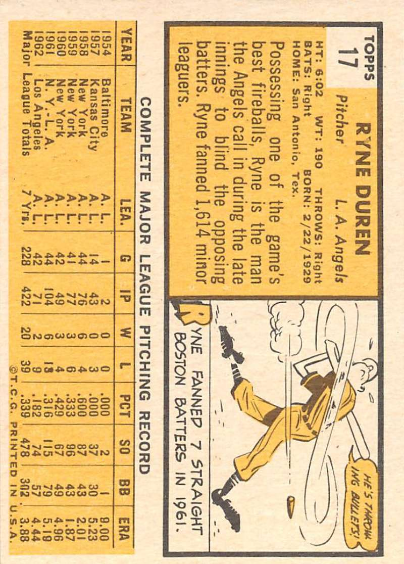 Details about 1963 Topps Baseball Set-Break #1 Nice, Ex to NM+ Cards #1-199  Pick-From-List